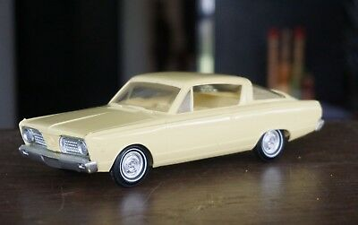 Old 1966 Plymouth Barracuda Promo In Yellow