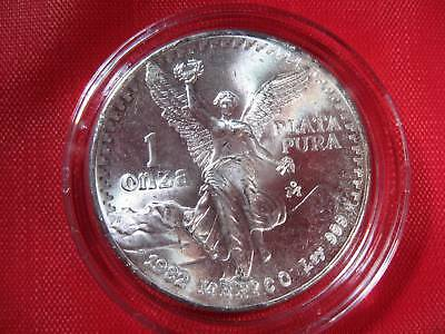 """1982 ~ KEY DATE Silver 1 OZ. .999 Libertad Onza """"WINGED ANGEL"""" SEALED Coin"""