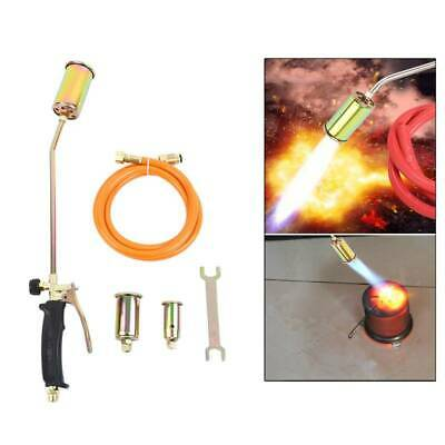 Portable Propane Weed Torch Burner Fire Starter Ice Melter Melting w/3Nozzle