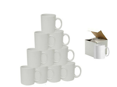 36 Sublimation Mugs White 11oz Coated Cup Blank Heat Press Printing + Gift Box