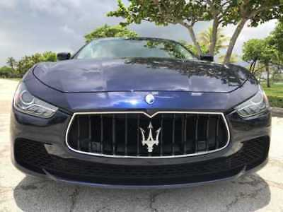 2014 Maserati Ghibli SQ 4 maserati ghibli s q4 minor accident with inspection and pictures