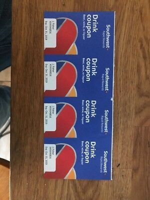 Southwest Drink Coupons (4)