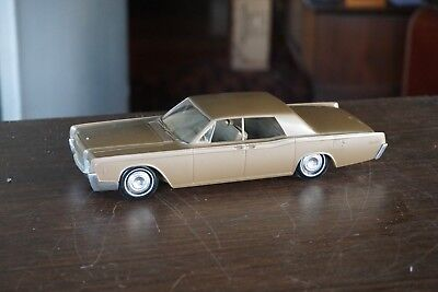 Old 1966 Lincoln Continental Promo In Metallic Gold? Stunning