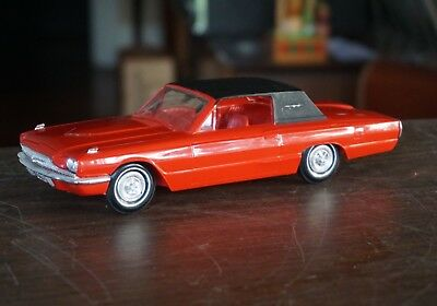 Old 1966 Ford Thunderbird Promo In Red With Black Top