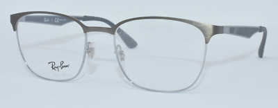 4162d8313cd New Authentic Ray Ban Unisex Eyeglasses Rb6356 2874 Gunmetal gray 52-18-145