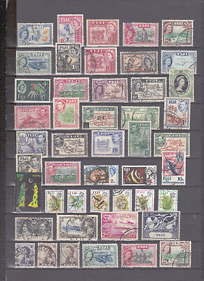 Fiji. Small selection mh/used (8107)