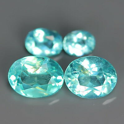 Comely 0.77 Ct Natural Unheated Blue APATITE Oval Gem @ See Video !!