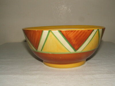 Clarice Cliff Art Deco Original Bizarre Fruit Bowl Rare &  Stunning