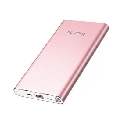 Powerbank Handy 10000mAh, Yoobao Externer Akku Pack Power Bank Akkupack mit D...