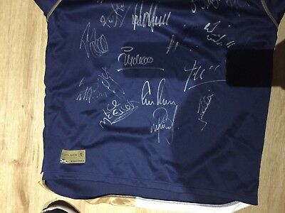 Hand Signed Football Shirts. Scotland International and Celtic Football