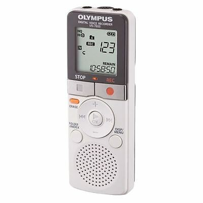 Olympus VN7800 Digital Voice Recorder, 4GB, White