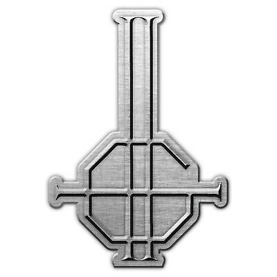 Ghost Metall Pin Anstecker Badge Button #2 Crucifix