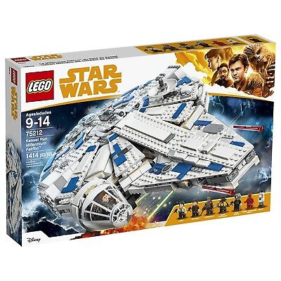 LEGO Star Wars 75212 Solo Kessel Run Millennium Falcon Building Kit - Sealed New