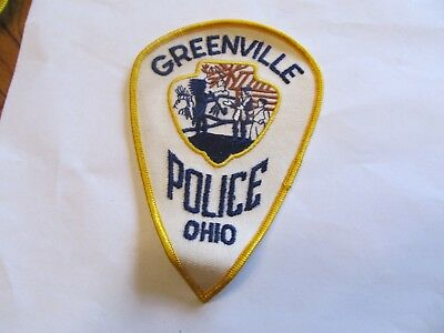 Ohio Greenville Police Patch