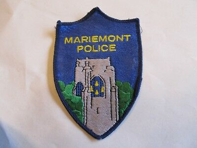 Ohio Mariemont Police Patch