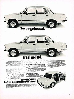 FSO 125P (Dutch, 1pg.) Advertisement (AAD.628)