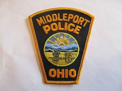 Ohio Middleport Police Patch