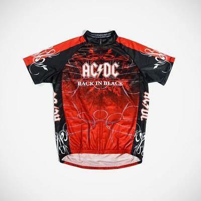 PRIMAL WEAR AC DC Back In Black Cycling Jersey Mens Short Sleeve ... ba1a985a9