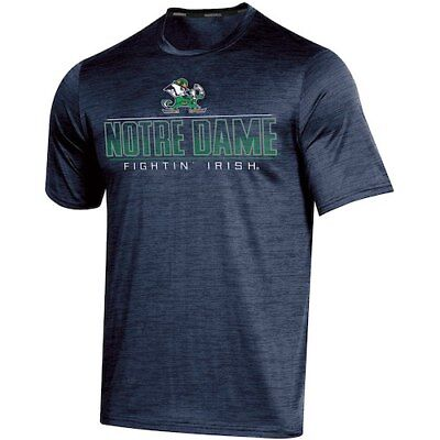 Men's Russell Navy Notre Dame Fighting Irish Synthetic Impact T-Shirt