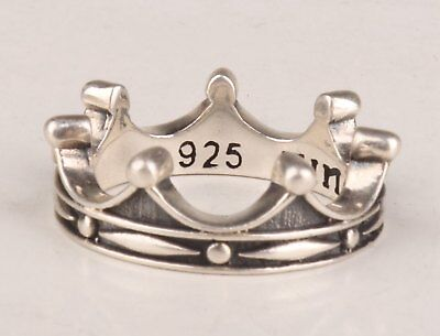 925 Silver Hand-Carved Crown Unique Fashion Collection Ring Gifts Wedding Rings