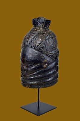 Old Mende Sowei Mask Sande Society Initiation Ceremony, African Art
