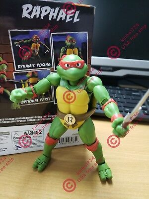 "SHF SH Figuarts Teenage Mutant Ninja Turtles 6"" Raphael Action Figure NewInBox"