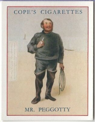 Mr. Pegotty Charles Dickens Character David Copperfield c80  Y/O Ad Trade Card