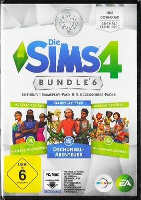 Die Sims 4 - Bundle Pack 6 (Code in a Box) - PC - Deutsche Version  - Neu & OVP