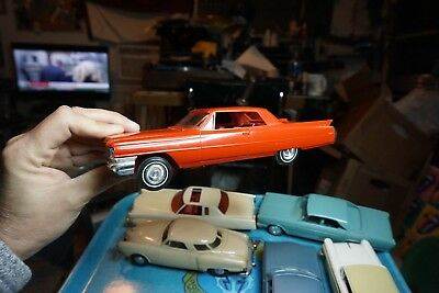 Old 1964 Cadillac De Ville Promo Style In Red For Parts