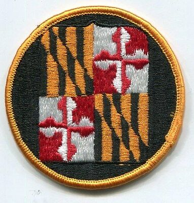 US Army Maryland National Guard COLOR Patch