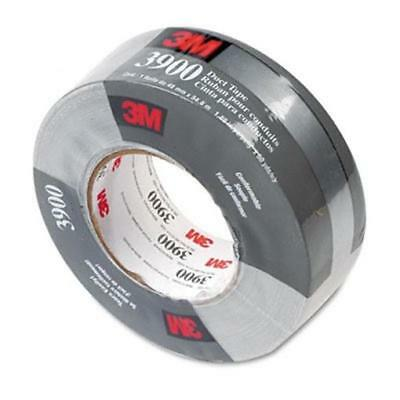 3M 3900 Poly-Coated Cloth Duct Tape  General Maintenance  2x 60 Yards  Silver