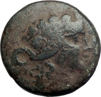 MARONEIA in Thrace 148BC Large Ancient Greek Coin Dionysos Wine God  i74123