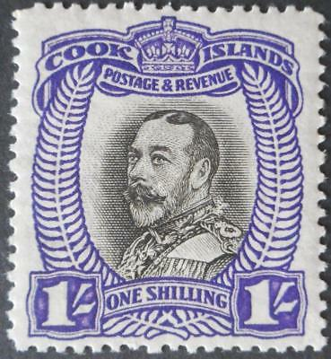 Cook Islands 1932 1/- SG 105 mint
