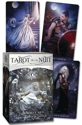 TAROT DE LA NUIT Boxed Deck & Book Card Set cards pagan wicca witch wiccan