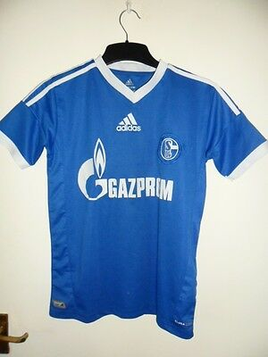 Schalke FC 2012 2013 home fanshirt  youth lewis Holtby 10