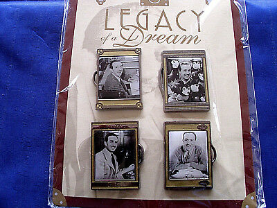 Walt Disney * LEGACY OF A DREAM * New in Package 4 pin BOOSTER Set