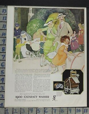 1921 Home Decor Laundry Room 1900 Cataract Washer Fashion Illus Marsh Ad Cp10