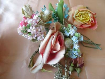 A Beautiful Collection Of Vintage Millinery Flowers