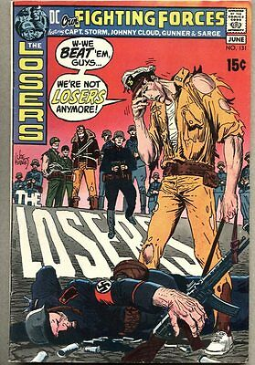 Our Fighting Forces #131-1971 fn The Losers Joe Kubert