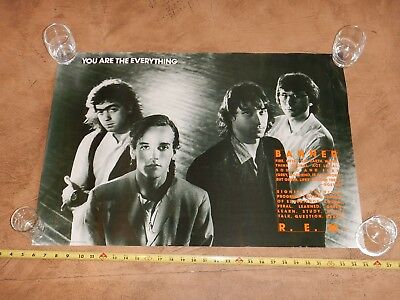Vintage, Original 1988 R.e.m. - You Are The Everything - Promo Poster