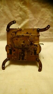 Vintage Clock Movement No 11319 For Spares Or Repsirs