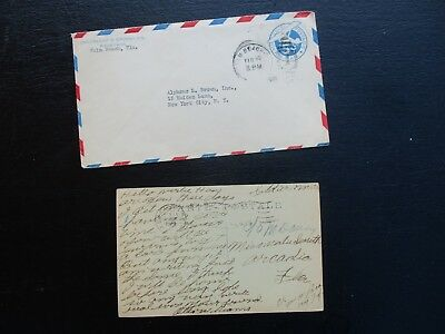 World War One 1919-1931 Arcadia & Palm Beach,Florida,Soldiers Mail,Cover & Card!