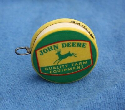 Dated 1919 JOHN DEERE Quality Farm Equipment Celluloid Advertising Tape Measure
