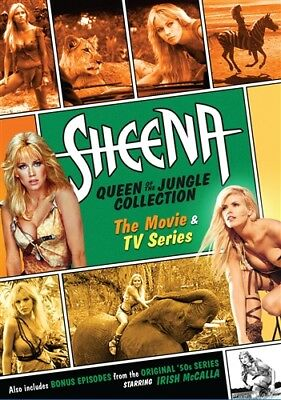 SHEENA QUEEN OF THE JUNGLE COLLECTION THE MOVIE & TV SERIES New Sealed 6 DVD Set