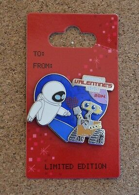 Pin 99574 2014 Valentine's Day - Wall-E and Eve