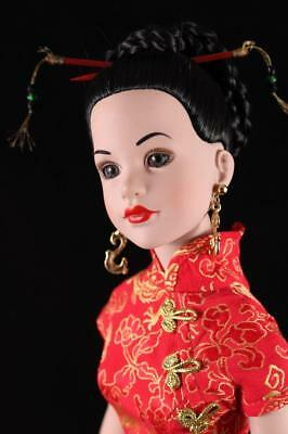 "Kitty Collier Fashion Doll Rare Robert Tonner 18"" Dressed In Year Of The Dragon"