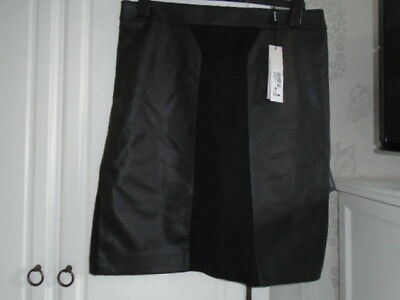 Brand New Black Fully Lined Skirt From Roman Originals Size 16