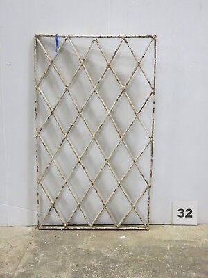Antique Egyptian Architectural Wrought Iron Panel Grate (E-32)