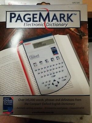 New Pagemark electronic Dictionary