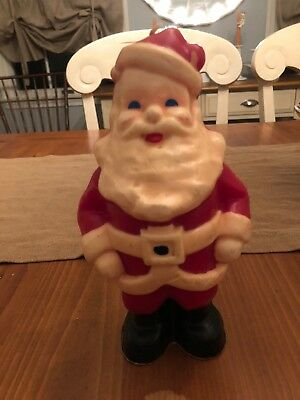 """VINTAGE GURLEY NOVELTY LARGE SANTA CANDLE Almost 9 """"EXC. RARE"""
